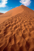 Close up of the dune 45 near sossusvlei namibia africa — Stock Photo