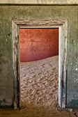 Dom ine ghost town kolmanskop namibia afryka — Zdjęcie stockowe
