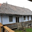 Traditional hungarian house in a szekler village - Stock Photo
