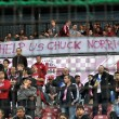 FC CFR Cluj soccer supporters — Stock Photo