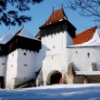 Saxon fortified church, Romania — Stock Photo