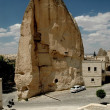 Stock Photo: Ancient cave-town in Goreme, Cappadocia