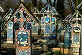 Painted crosses — Stock Photo
