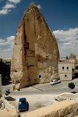Ancient cave-town in Goreme, Cappadocia — Stockfoto