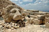 Monumental god heads on mount Nemrut, Turkey — Stock Photo