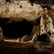 Monumental cave hall — Stock Photo