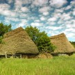 Old farmer's wooden house in Transylvania — Stock Photo