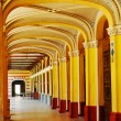 Stock Photo: Old Casino corridor