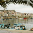 Harbor of Kavala, Greece — Stock Photo