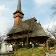 Unesco wooden church of Desesti, Maramures, Romania — Stock fotografie