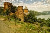 Pevnost ananuri, gruzie — Stock fotografie