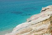 Rocky coast in Albania — Stock Photo