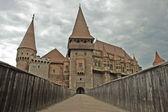 The castle of Hunedoara, Transylvania — Stock Photo