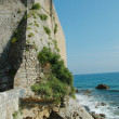 Stock Photo: Budvfortress near sea, Montenegro