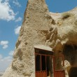 Stock Photo: Ancient cave-town in Goreme, Cappadocia, Turkey