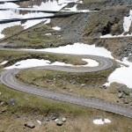 The Transfagarasan winding road — Stock Photo #8343297