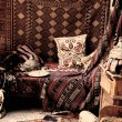 Stockfoto: Turkish carpet store, bazaar