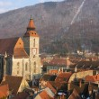 Black church cathedral, Brasov, Romania — Foto de Stock