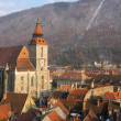 Black church cathedral, Brasov, Romania — ストック写真