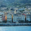Stock Photo: Bastia, view of port and town. Corsica, France