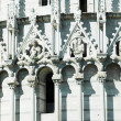 Stock Photo: Details of Miracoli square monuments. Pisa, Italy