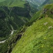 Georgian Military Highway, Caucasus mountains — Stock Photo