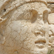 Monumental god heads on mount Nemrut, Turkey — Stock Photo