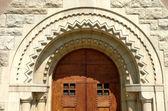 Door entrance — Stock Photo