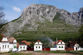 Hungarian village in a mountainous region — Stock Photo