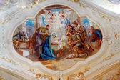 Armenian catholic church interior of Gherla, Romania — Stock Photo