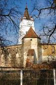 Fortified church of Harman in Transylvania, Romania — Stock Photo