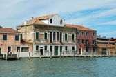 Canal in Murano, Italy — Stock Photo