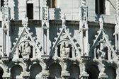 Miracoli meydanı anıt ayrıntıları. pisa, i̇talya — Stok fotoğraf