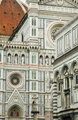 The dome of Florence, architectural details. Italy — Stock Photo