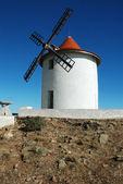 Old windmill in Capo Grosso, Cap Corse, Corsica. — Stock Photo
