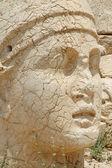 Cabezas monumentales de dios en el monte nemrut, turquía — Foto de Stock