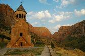 Noravank 修道院,13 世纪,亚美尼亚 — 图库照片