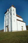 The romanesque church of Herina, Romania — Stock Photo