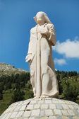 Le roi des Christes / The king of Christs, Col de Verghio — Stok fotoğraf