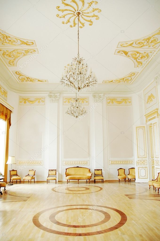 	Images of the beautiful interior of the palace.  Stock Photo #8342692