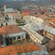 Aerial view of Baia Mare city, Romania. View from the city tower — Stock Photo #8412112
