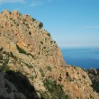 Stock Photo: E Calanque di Piana, granite rocks in Corsica