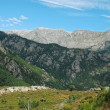 Inland Corsica mountains — Stock Photo