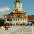 The council square in Brasov, Transylvania, Romania — Stock Photo