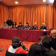 Постер, плакат: Scorpions rock band press conference