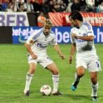 Legendary football player Raul Gonzalez — Stock Photo
