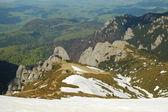 Mountain landscape, Ciucas mountains, Carpathians, Romania — Stock Photo
