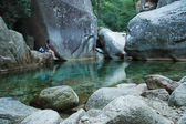 法国科西嘉,purcaraccia 峡谷 — 图库照片