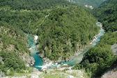 Tara canyon, Montenegro — Stock Photo