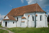 Fortified church of Ghelinta in Covasna county, Romania. — Stock Photo